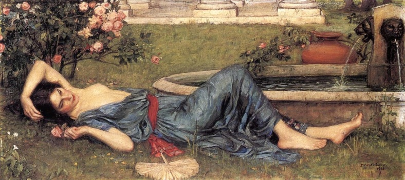 waterhouse john william sweet-summer-1912