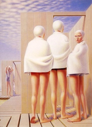 Tooker Bathers-George-Tooker-1950
